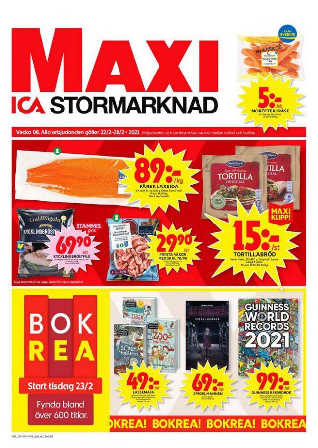 ICA Maxi Erbjudanden . ICA Maxi (2021-02-28-2021-02-28)