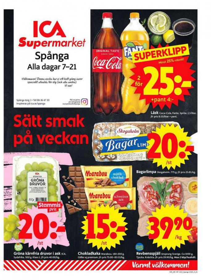 ICA Supermarket Erbjudanden . ICA Supermarket (2021-02-07-2021-02-07)