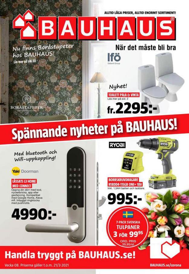 Bauhaus Erbjudande Aktuella Kampanjer . Bauhaus (2021-03-21-2021-03-21)