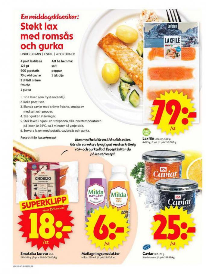 ICA Supermarket Erbjudanden . Page 8