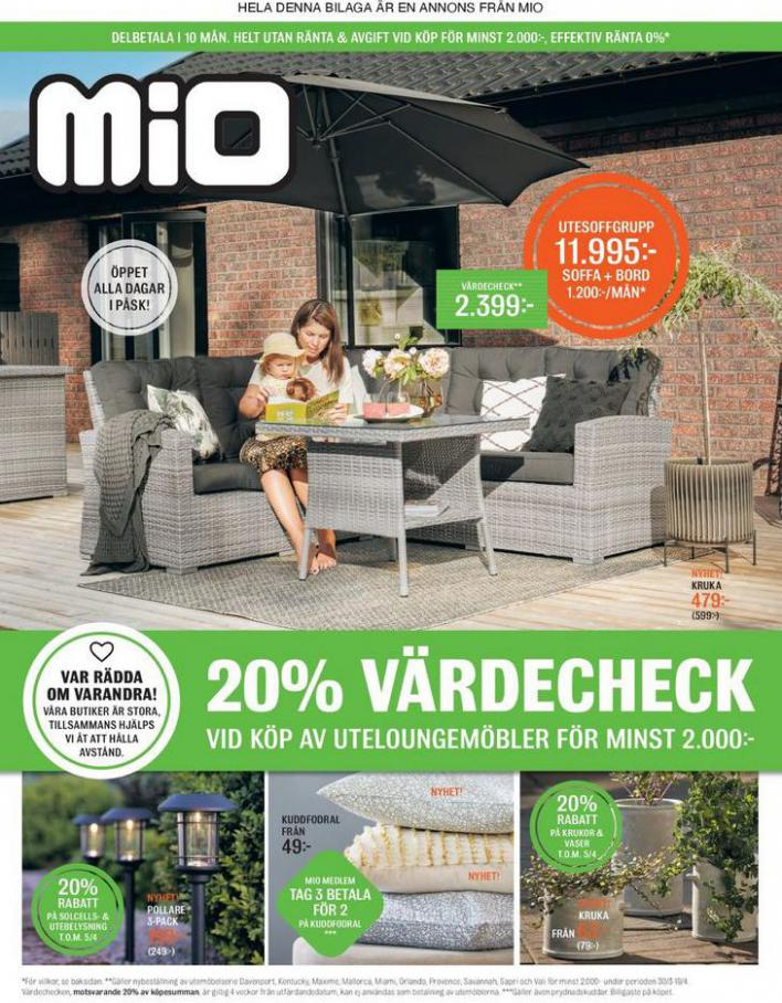 Mio Erbjudande 20% Värdecheck . Mio (2021-04-19-2021-04-19)