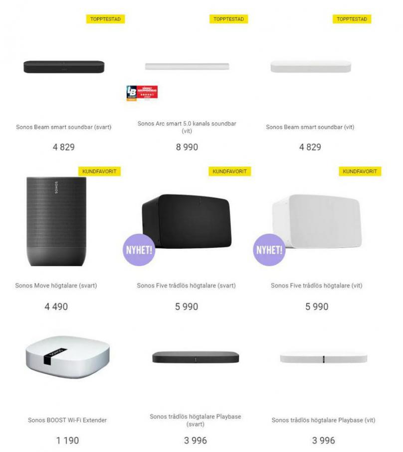 Elgiganten Erbjudande Sonos . Page 5