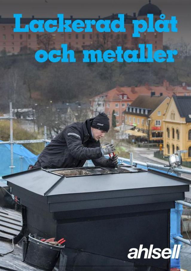Lackerad plåt och metaller 2021 . Ahlsell (2021-12-31-2021-12-31)