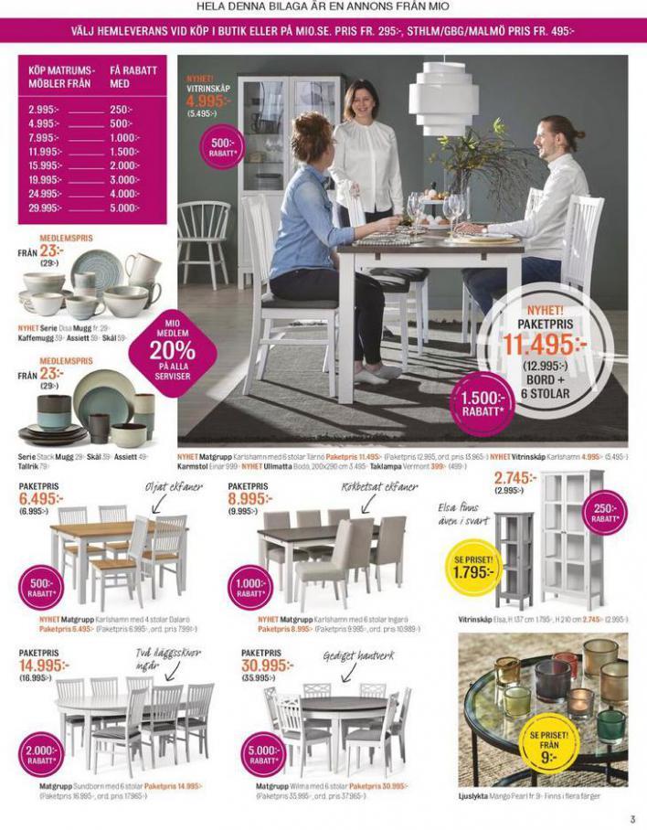 Mio Erbjudande Matplatsdagar! . Page 3