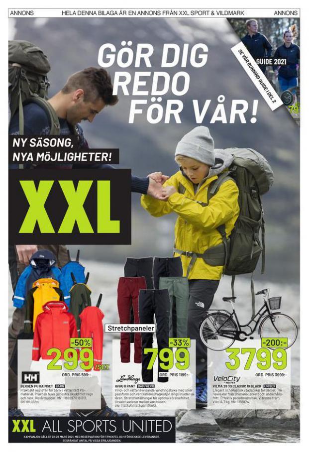 XXL Erbjudande Gör dig redo för Vår! . XXL (2021-03-28-2021-03-28)