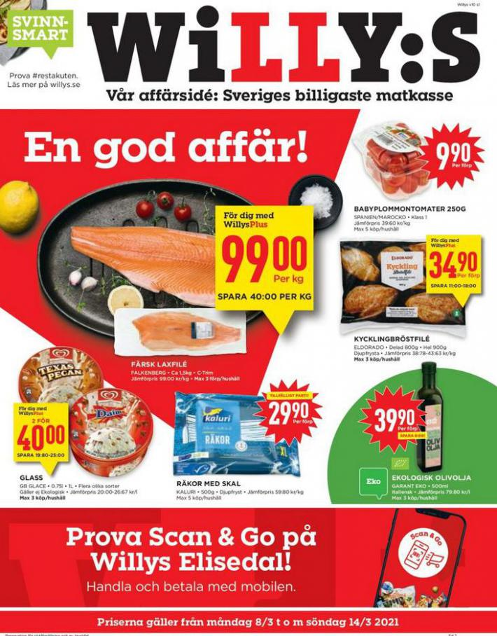 Willys reklamblad . Willys (2021-03-14-2021-03-14)
