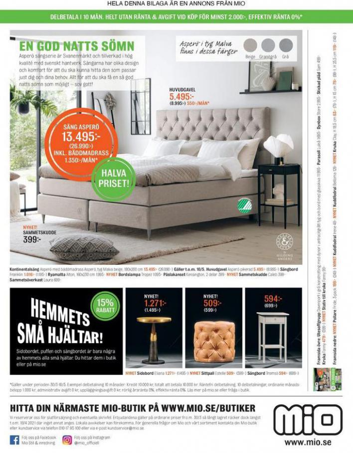 Mio Erbjudande 20% Värdecheck . Page 12