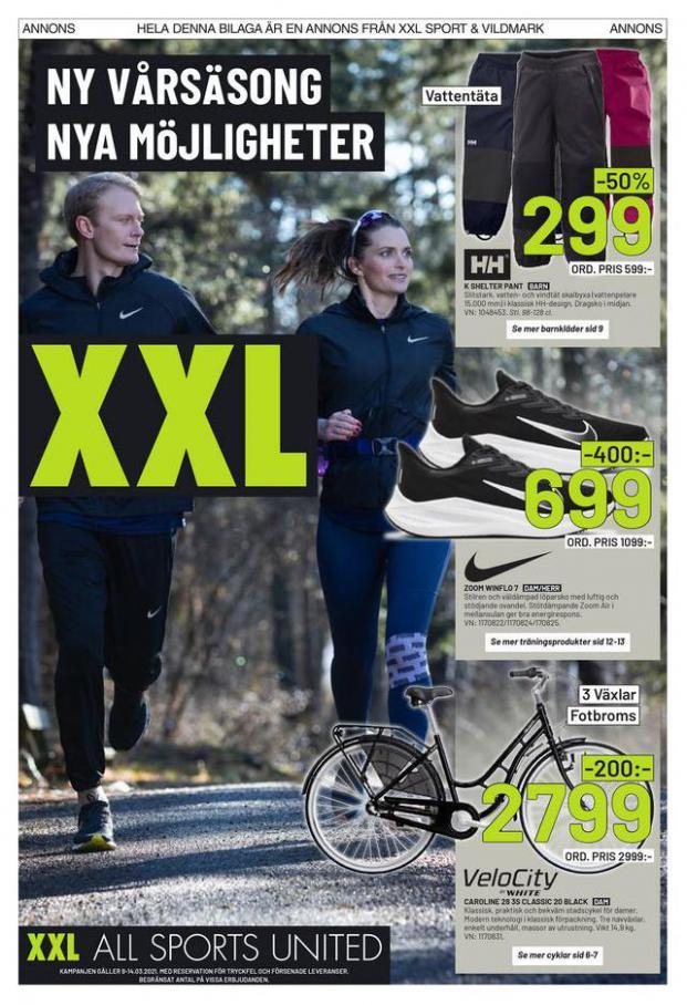 XXL Erbjudande Ny Vårsäsong. Nya Möjligheter . XXL (2021-03-14-2021-03-14)