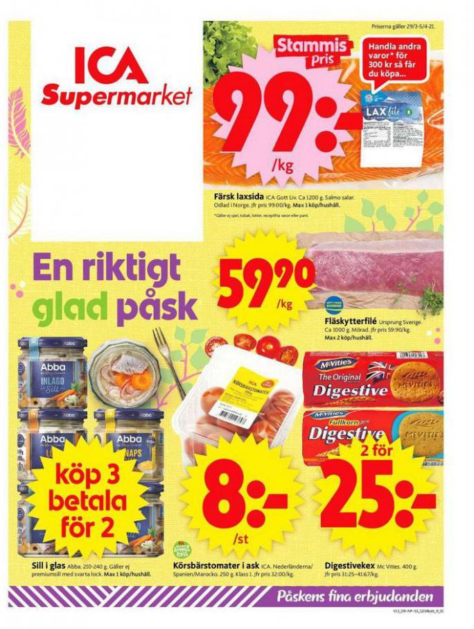 ICA Supermarket Erbjudanden . ICA Supermarket (2021-04-04-2021-04-04)