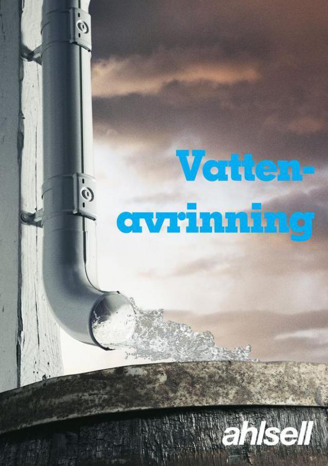 Vattenavrinning 2021 . Ahlsell (2021-12-31-2021-12-31)