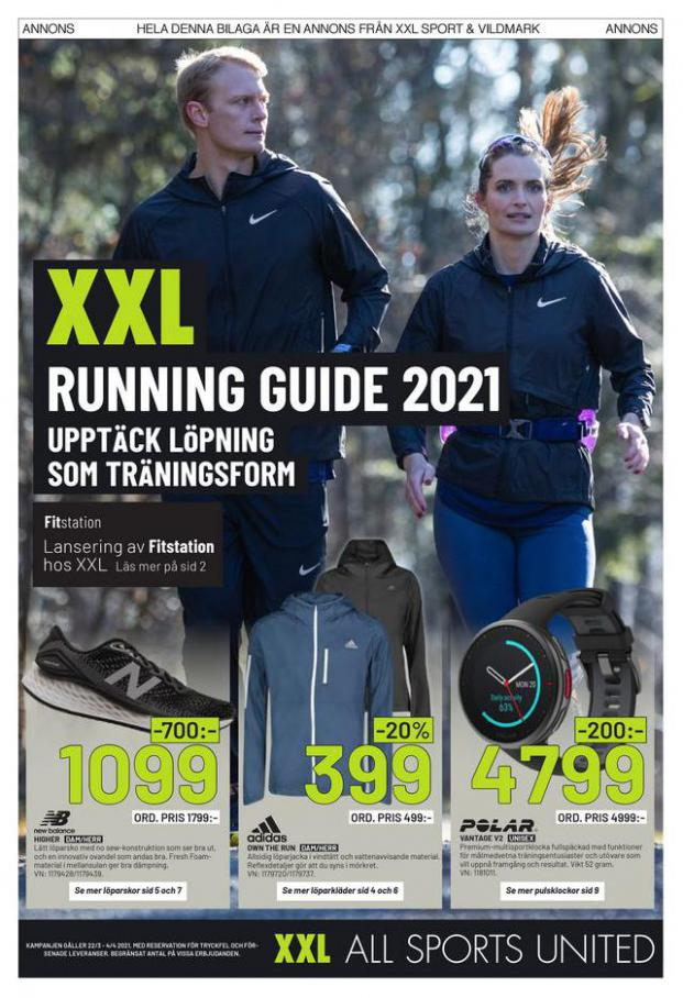 XXL Erbjudande Running Guide 2021 . XXL (2021-04-04-2021-04-04)