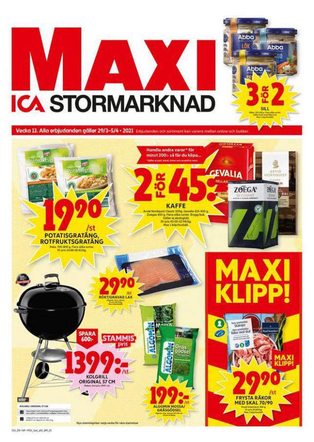 ICA Maxi Erbjudanden . ICA Maxi (2021-04-04-2021-04-04)