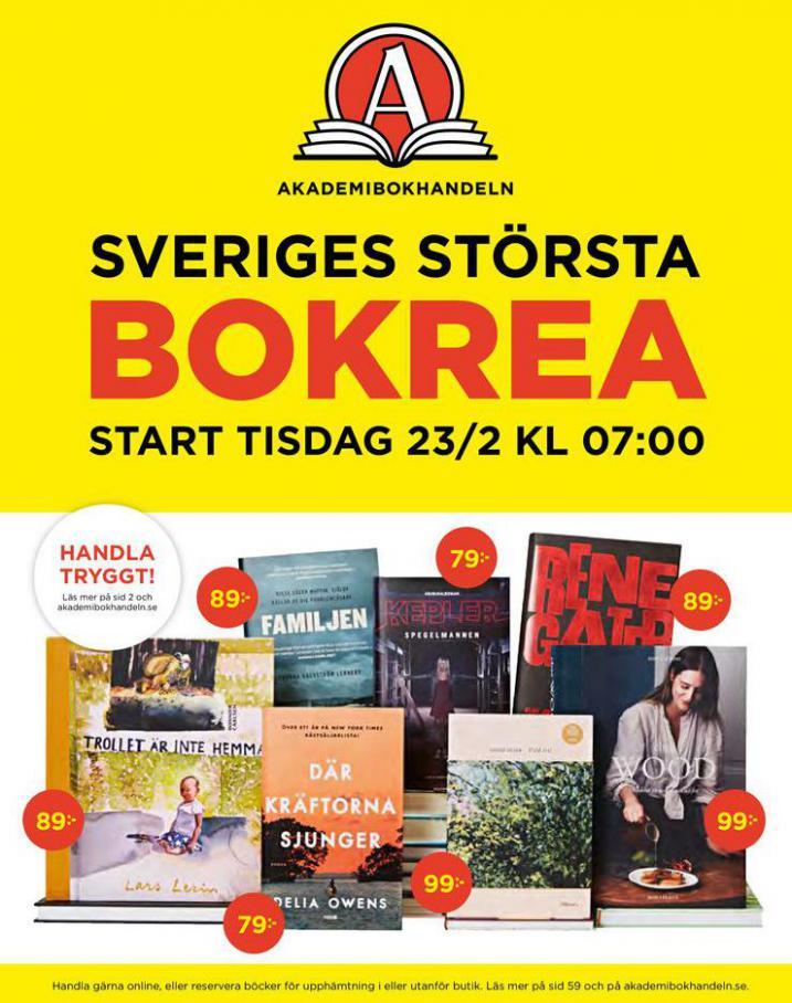 Akademibokhandeln Erbjudande Bokrea . Akademibokhandeln (2021-03-31-2021-03-31)