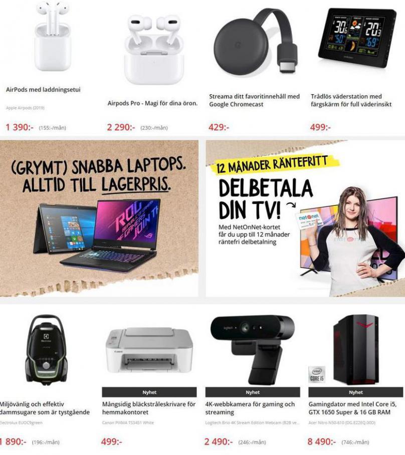 Net On Net Erbjudande Kampanjblad . Page 7