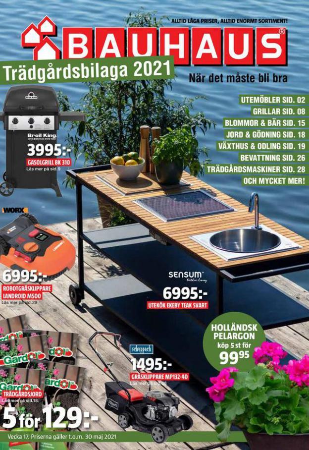 Bauhaus Erbjudande Trädgårdsbilaga 2021 . Bauhaus (2021-05-30-2021-05-30)
