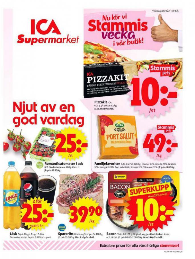 ICA Supermarket Erbjudanden . ICA Supermarket (2021-04-18-2021-04-18)