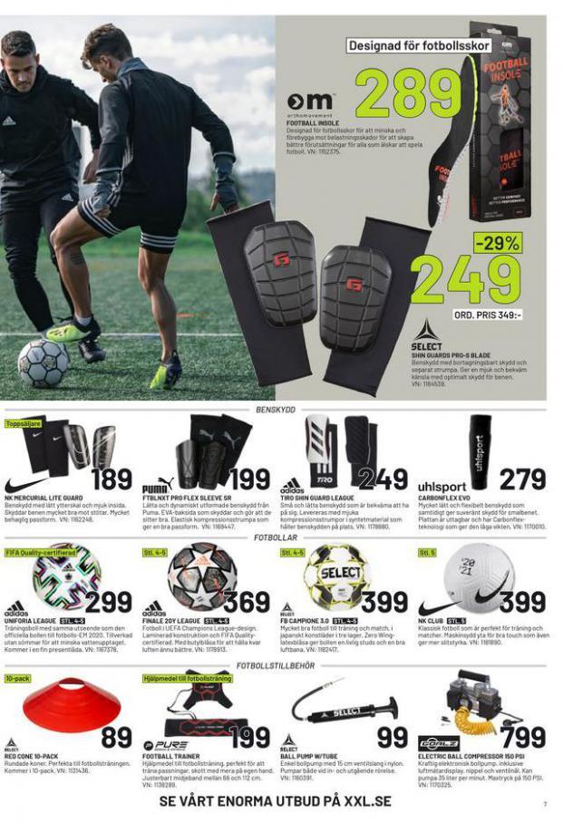 XXL Erbjudande Fotbollsguide 2021 . Page 7