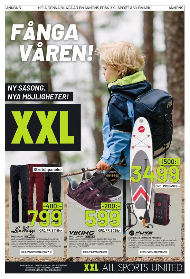 XXL Erbjudande Fånga Våren! . XXL (2021-04-25-2021-04-25)