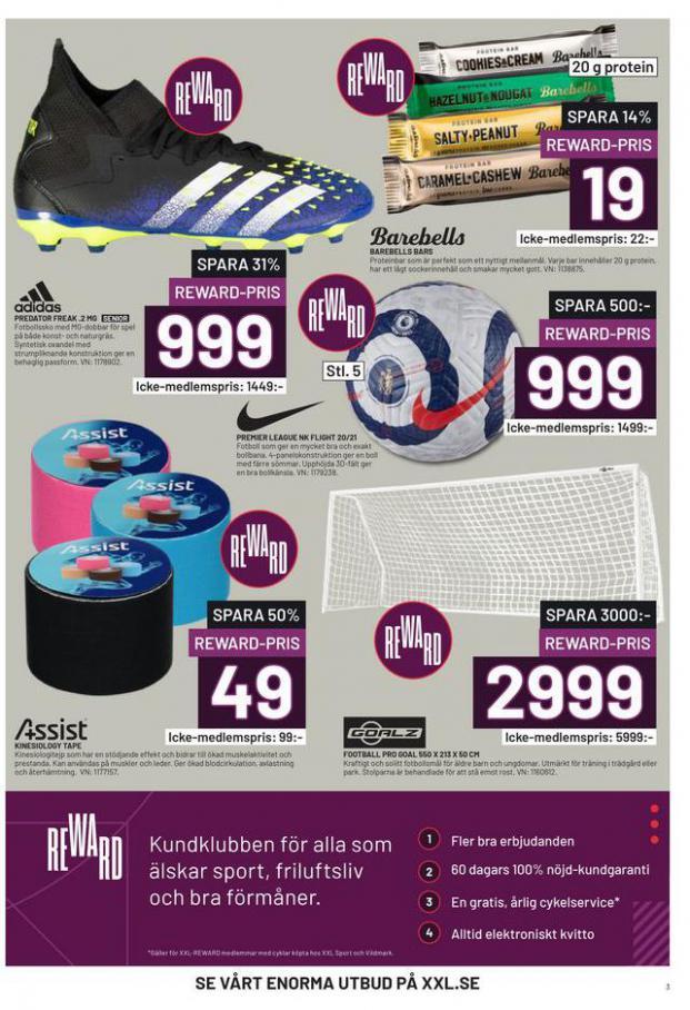 XXL Erbjudande Fotbollsguide 2021 . Page 3