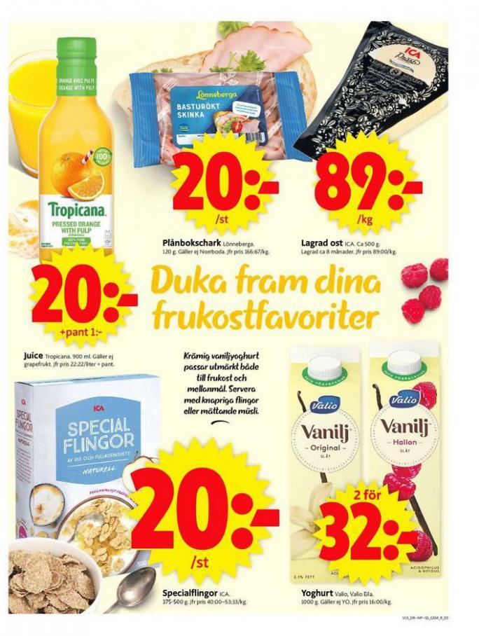 ICA Supermarket Erbjudanden . Page 5
