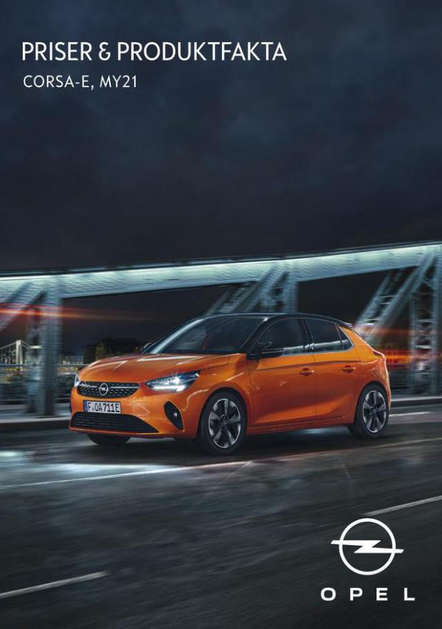 Opel - Nya Opel Corsa-e . Opel (2022-01-31-2022-01-31)