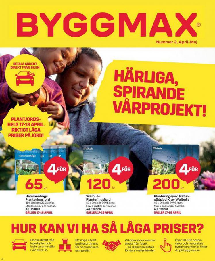 Byggmax Erbjudande April-Maj 2021 . Byggmax (2021-05-02-2021-05-02)