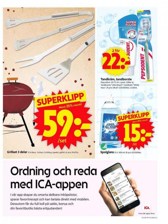 ICA Supermarket Erbjudanden . Page 11