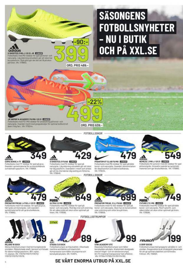 XXL Erbjudande Fotbollsguide 2021 . Page 4
