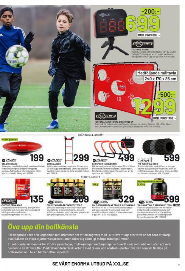 XXL Erbjudande Fotbollsguide 2021 . Page 11