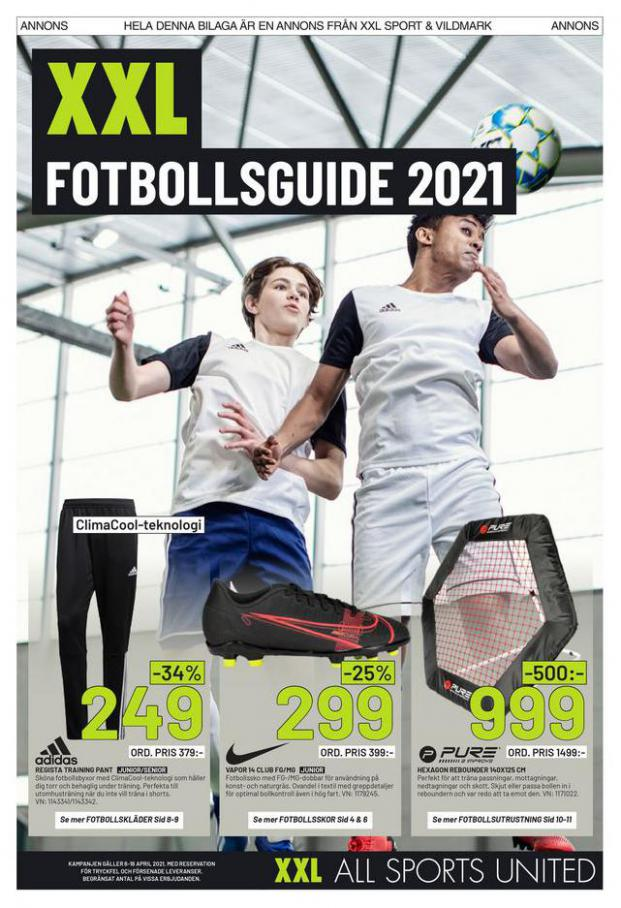 XXL Erbjudande Fotbollsguide 2021 . Page 1