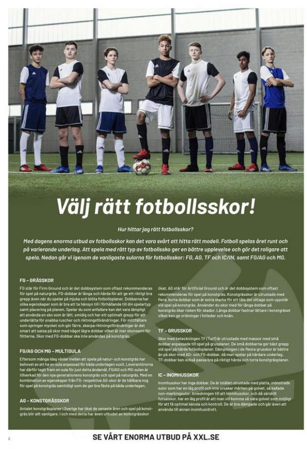 XXL Erbjudande Fotbollsguide 2021 . Page 2