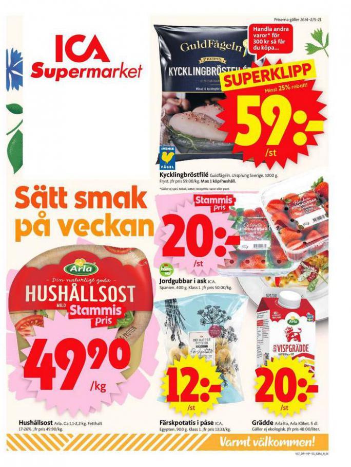 ICA Supermarket Erbjudanden . ICA Supermarket (2021-05-02-2021-05-02)