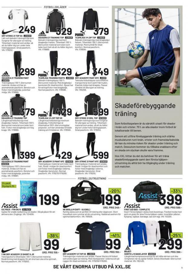 XXL Erbjudande Fotbollsguide 2021 . Page 9