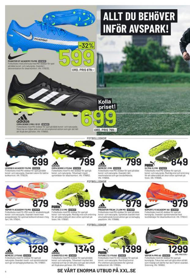XXL Erbjudande Fotbollsguide 2021 . Page 6