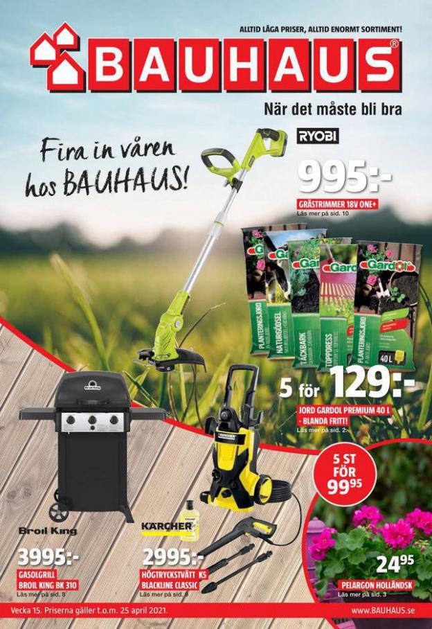 Bauhaus Erbjudande Aktuella Kampanjer . Bauhaus (2021-04-25-2021-04-25)