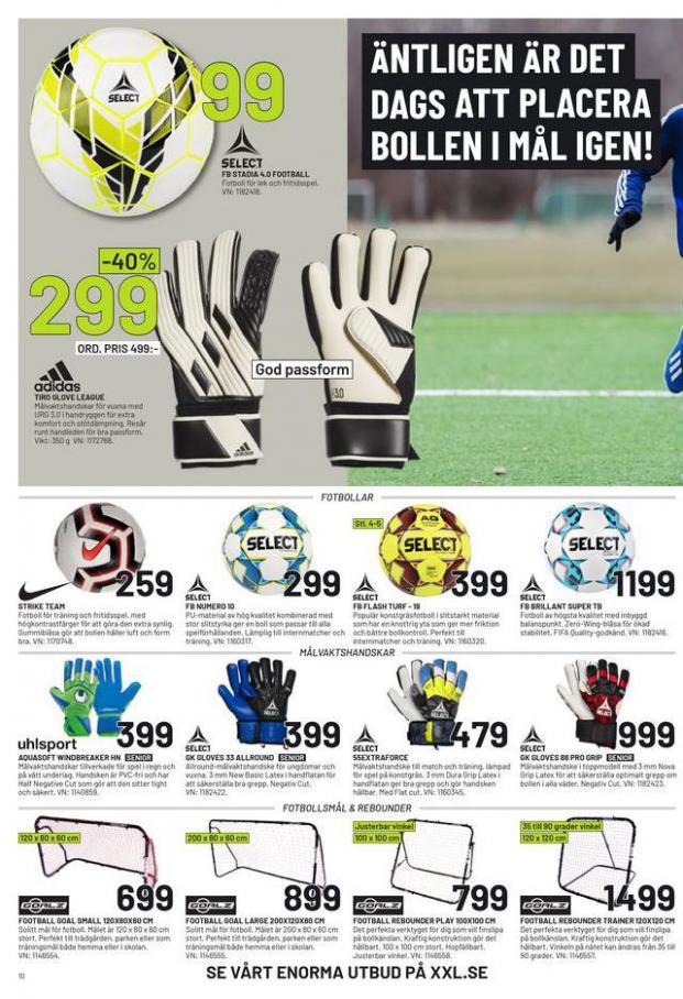 XXL Erbjudande Fotbollsguide 2021 . Page 10