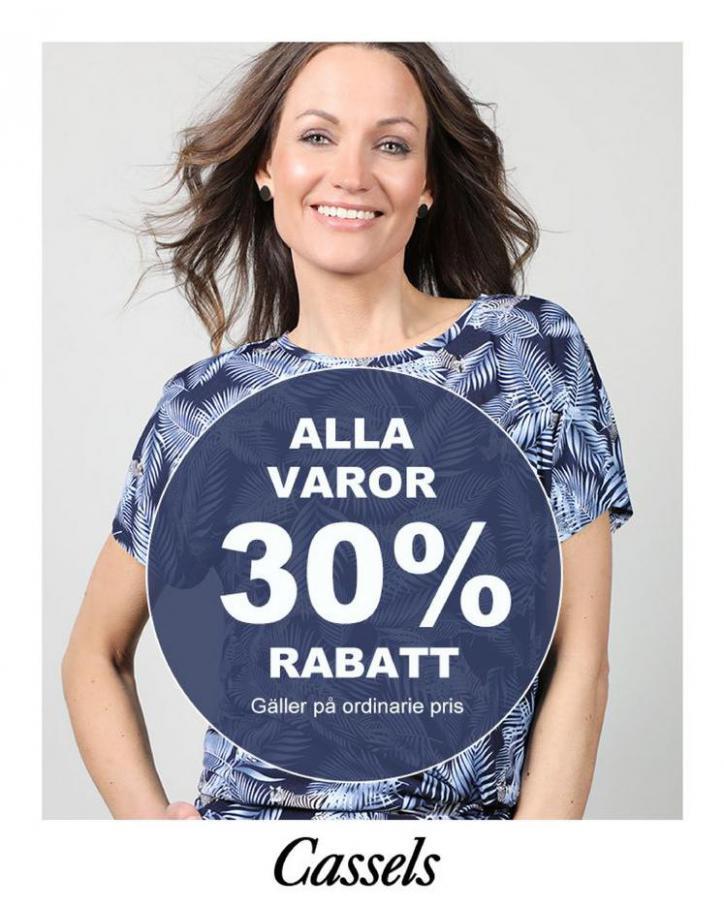 Alla Varor 30% Rabatt . Cassels (2021-04-30-2021-04-30)
