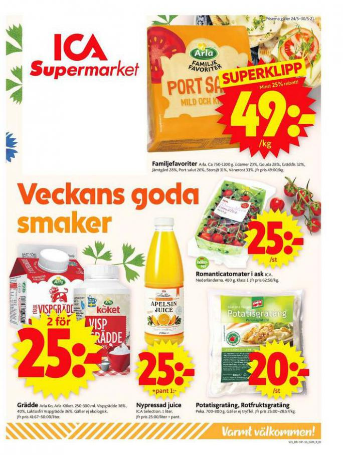 ICA Supermarket Erbjudanden. ICA Supermarket (2021-05-30-2021-05-30)