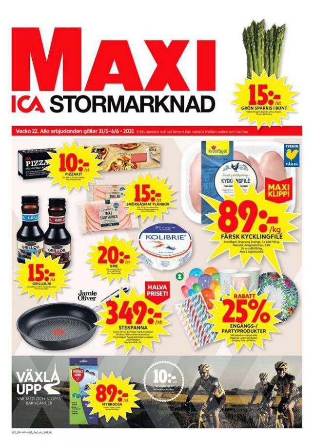 ICA Maxi Erbjudanden. ICA Maxi (2021-06-06-2021-06-06)