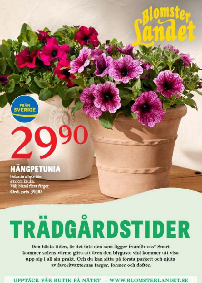 Blomsterlandet Erbjudande Aktuell  . Blomsterlandet (2021-05-14-2021-05-14)