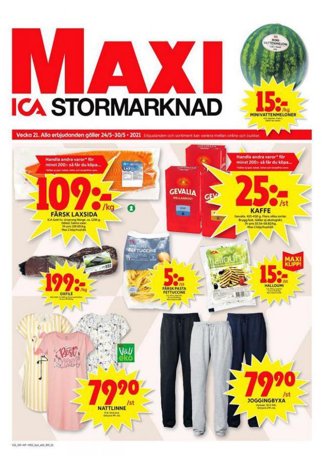 ICA Maxi Erbjudanden. ICA Maxi (2021-05-30-2021-05-30)