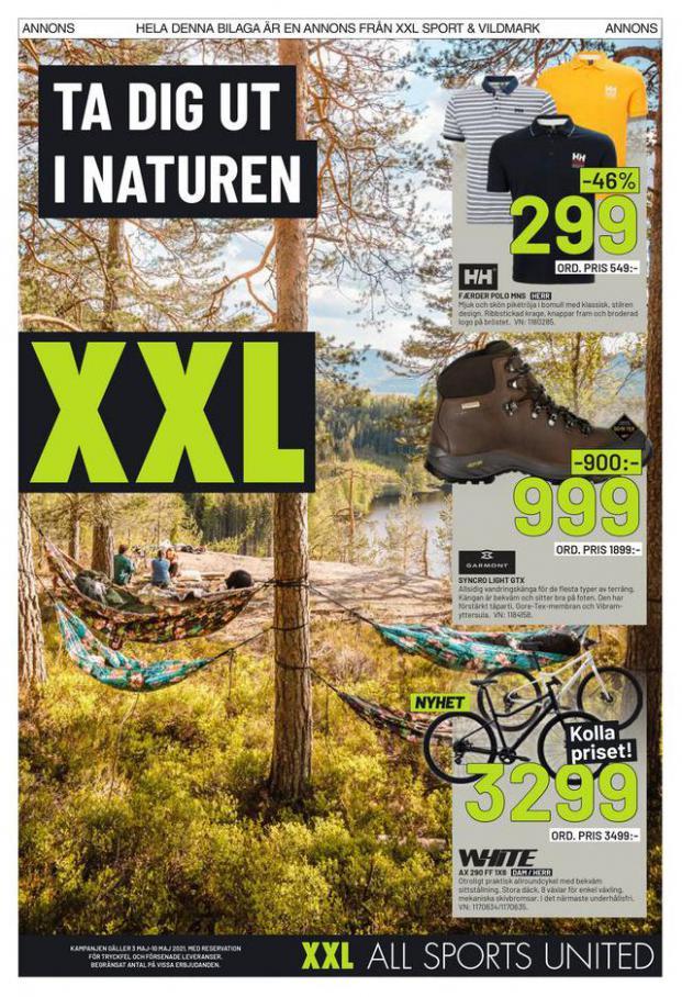 XXL Erbjudande Ta dig ut I Naturen . XXL (2021-05-10-2021-05-10)