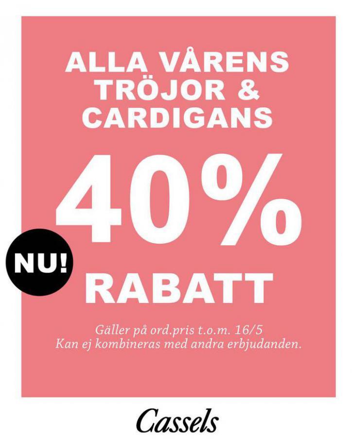 Alla Vårens Tröjor & Cardigans . Cassels (2021-05-23-2021-05-23)