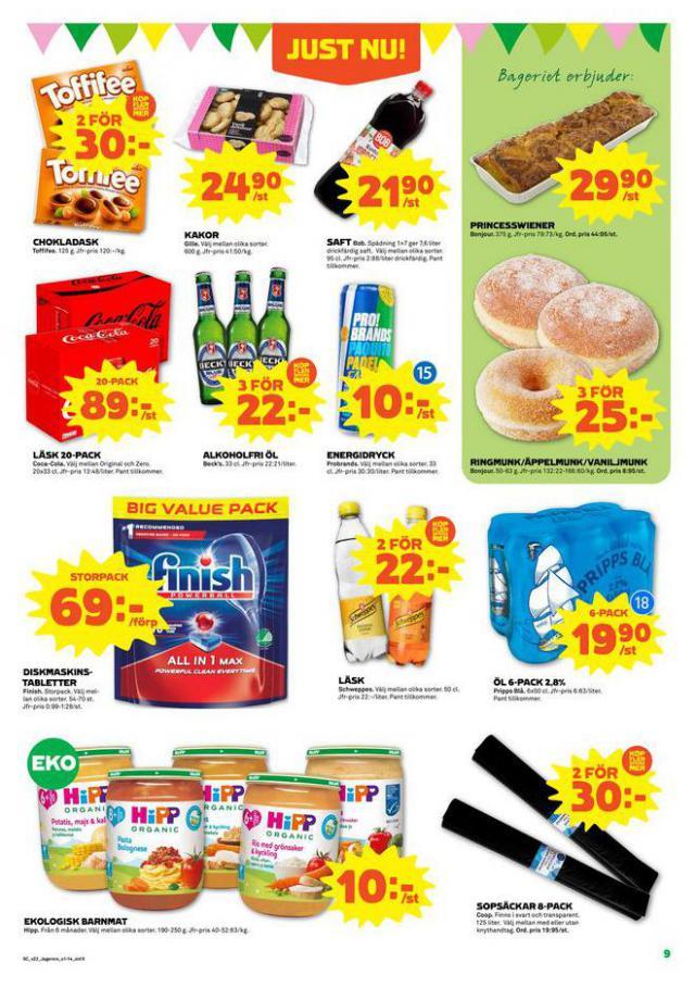 Coop Forum reklamblad. Page 9