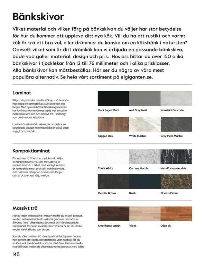 Elgiganten Erbjudande Epoq kökskatalog . Page 146