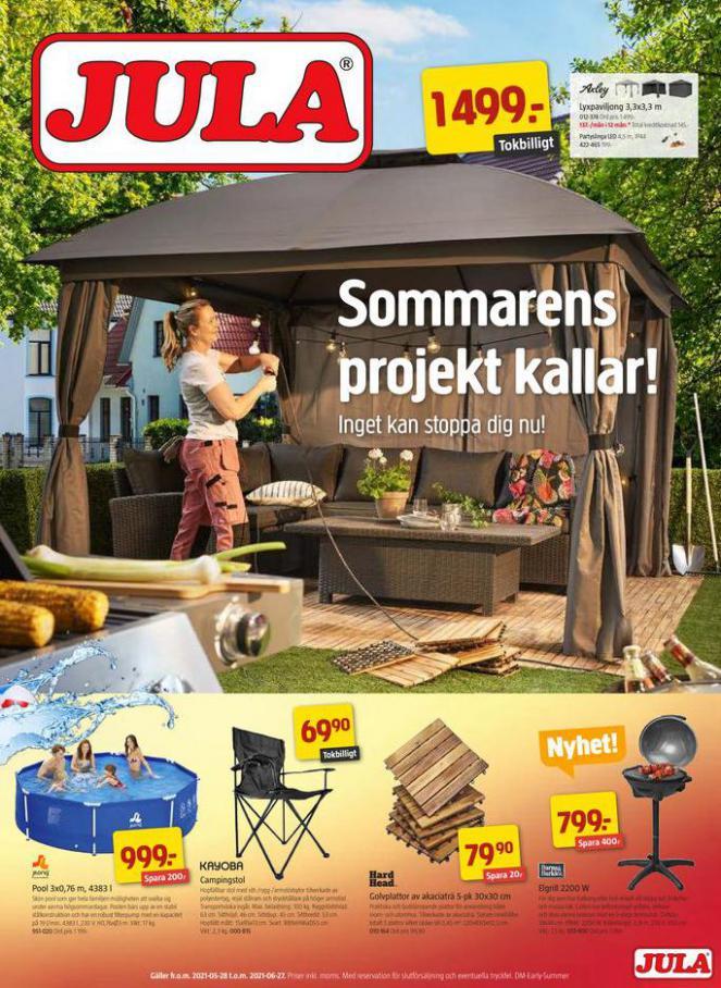 Jula reklamblad. Jula (2021-06-27-2021-06-27)