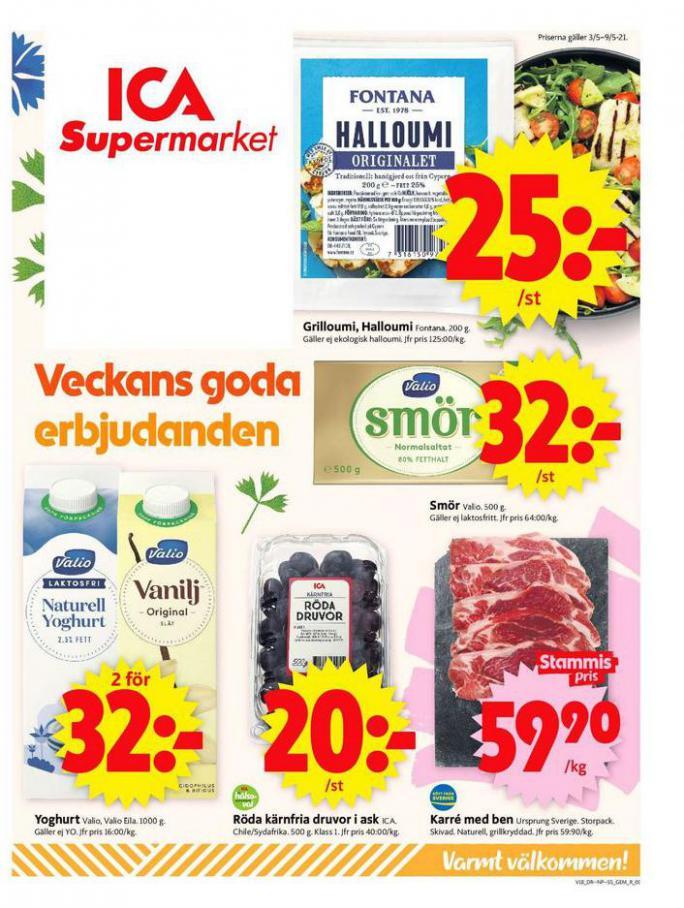 ICA Supermarket Erbjudanden . ICA Supermarket (2021-05-06-2021-05-06)