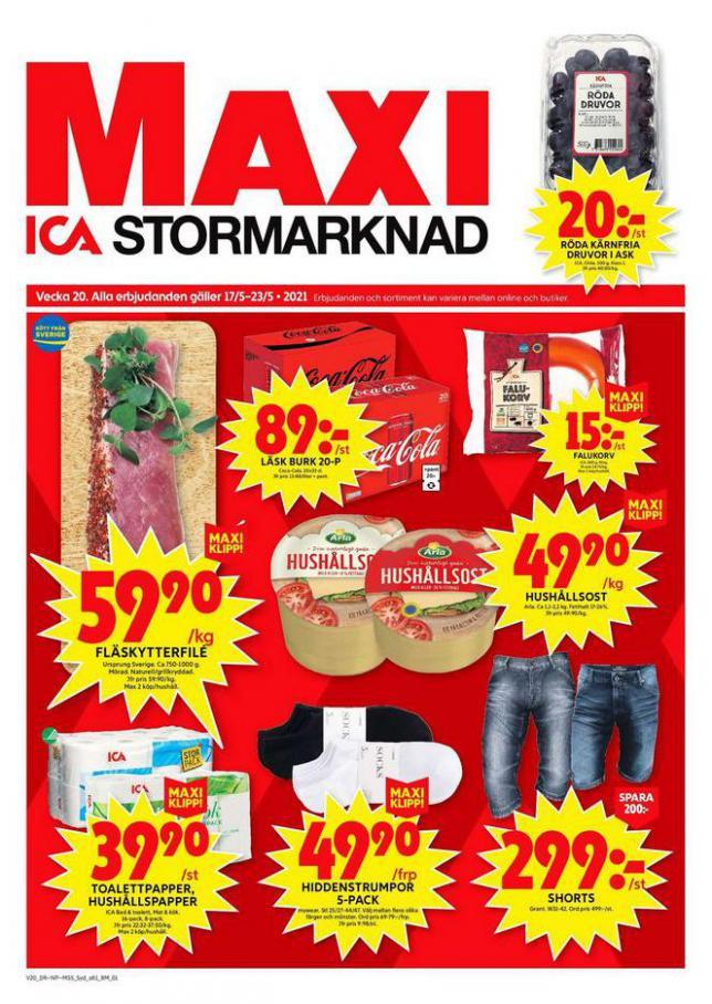ICA Maxi Erbjudanden . ICA Maxi (2021-05-20-2021-05-20)