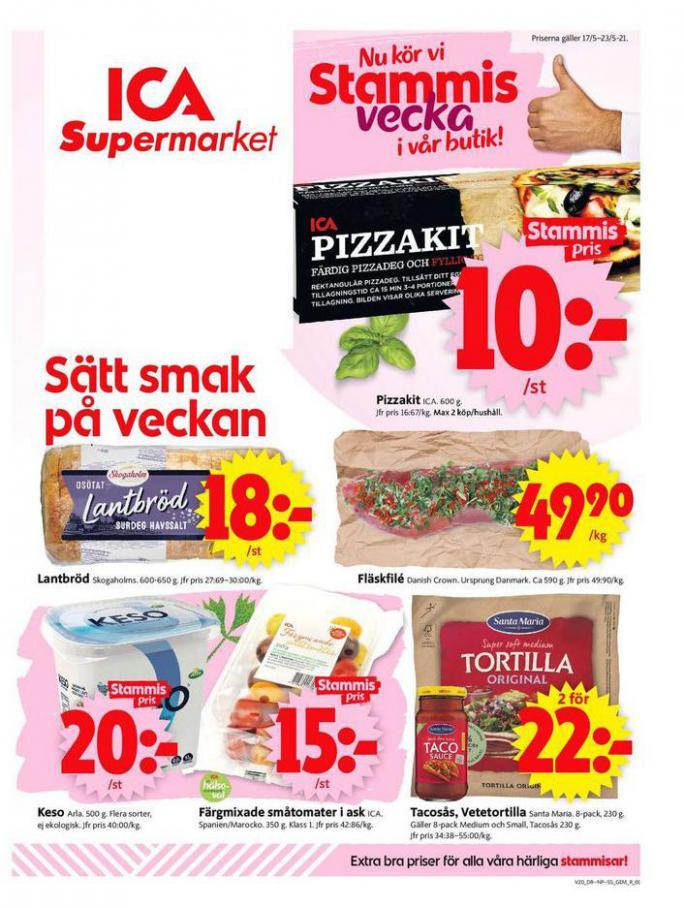 ICA Supermarket Erbjudanden . ICA Supermarket (2021-05-20-2021-05-20)