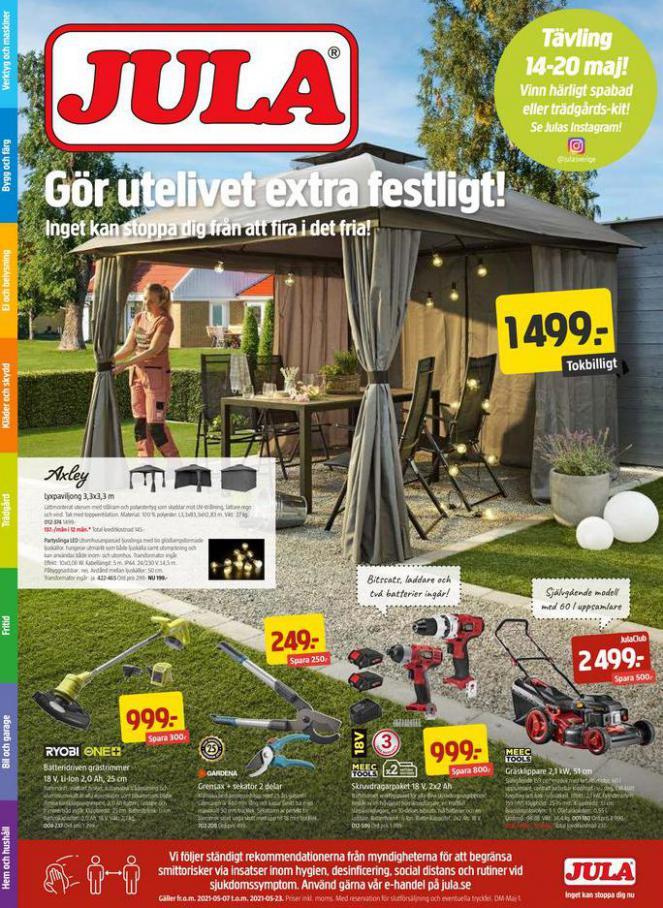Jula reklamblad . Jula (2021-05-23-2021-05-23)